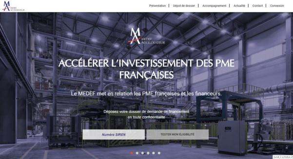 Le Medef lance Medef Accélérateur d'Investissement (MAI) pour accélérer la croissance des PME