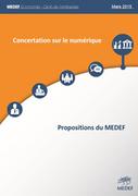 Contribution du MEDEF à la concertation sur le numérique