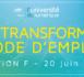 Université du numérique 2019 : « Se transformer, mode d'emploi »