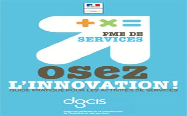 """Parution du guide """"PME de services : osez l'innovation"""""""